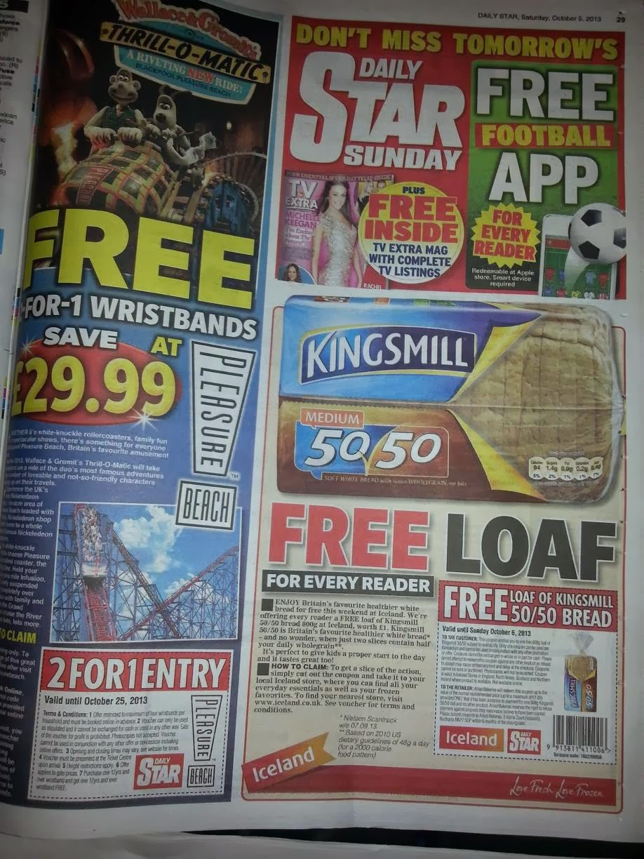 Newspaper Coupons Coupon Clippers Uk