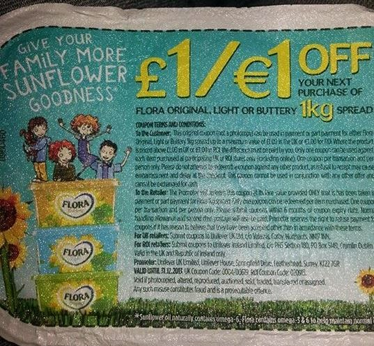 Product coupons uk